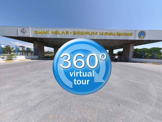 Bodrum Airport 360 Virtual Tour